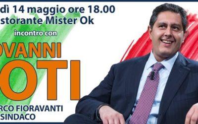 Giovanni Toti ad Ascoli Piceno