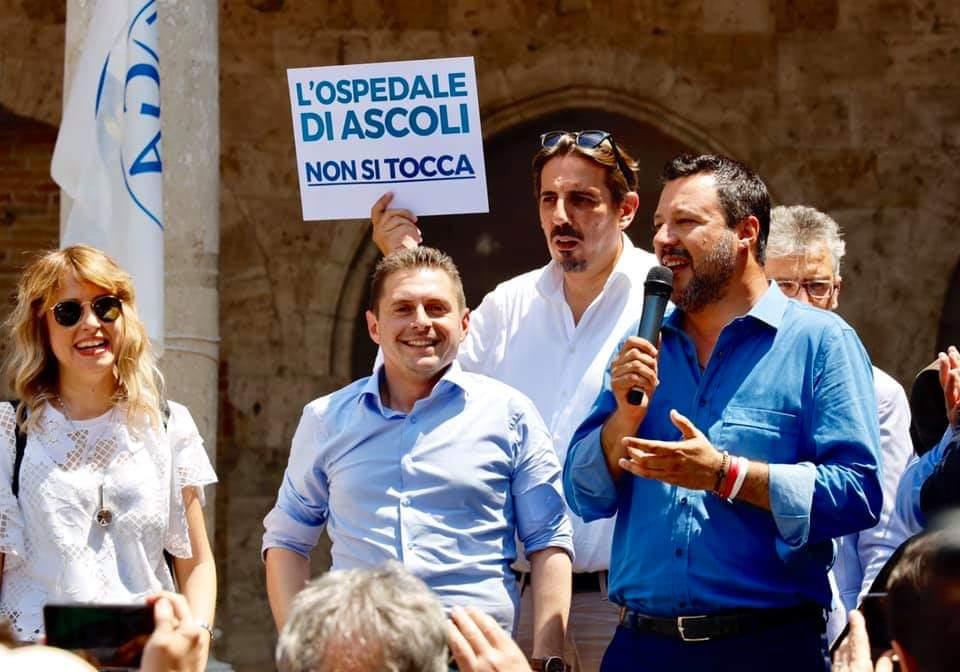 Matteo Salvini ad Ascoli Piceno