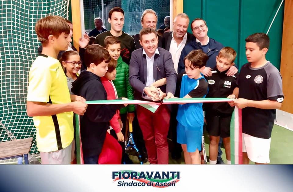 Inaugurazione al Circolo Tennis Piceno