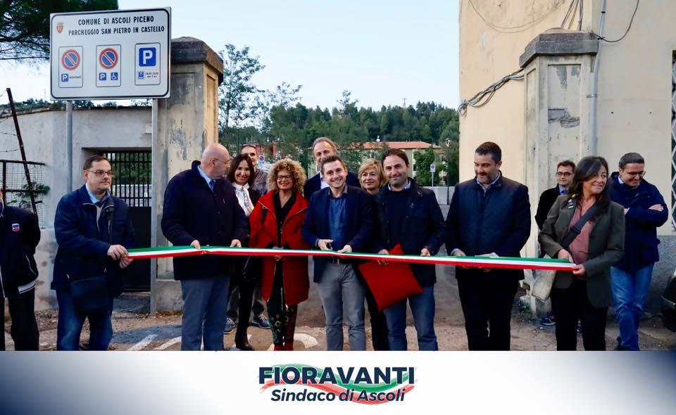 Inaugurazione parcheggio San Pietro in Castello