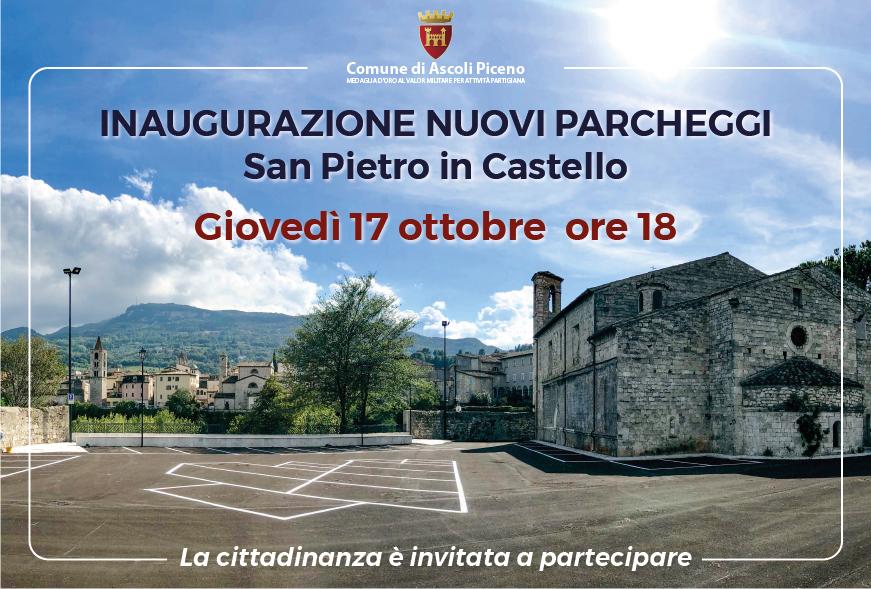 Inaugurazione Parcheggi di San Pietro in Castello