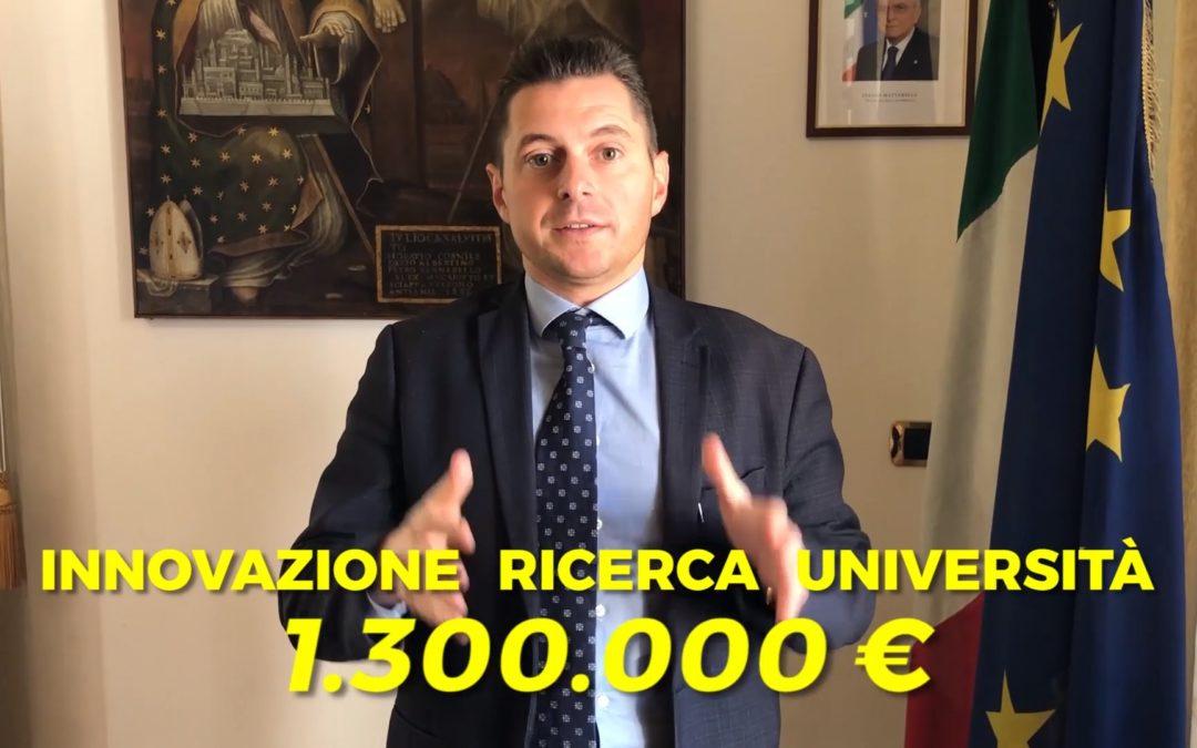 Un milione e 300mila euro per 18 borse di studio