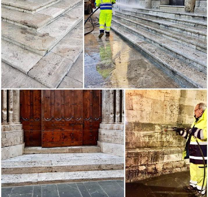 Continua la pulizia della nostra splendida Ascoli