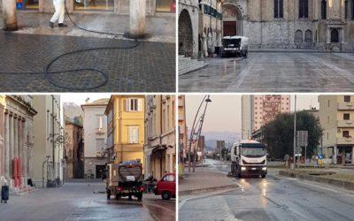 Continua l'attività di disinfezione della nostra città!