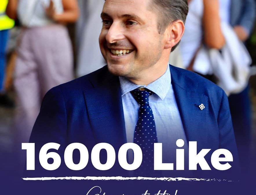 16000 LIKE su Facebook!