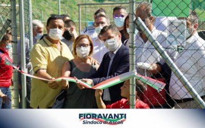 Inaugurazione del nuovo campo da torball presso il centro sportivo Ugo Tasselli!