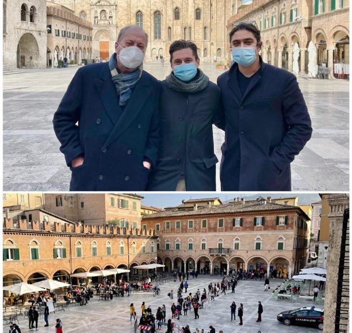 """La città di Ascoli Piceno palcoscenico del film """"L'Ombra del giorno"""""""