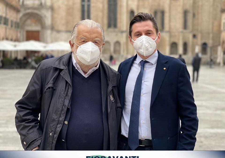 Ad Ascoli Piceno lo straordinario regista e produttore cinematografico Pupi Avati