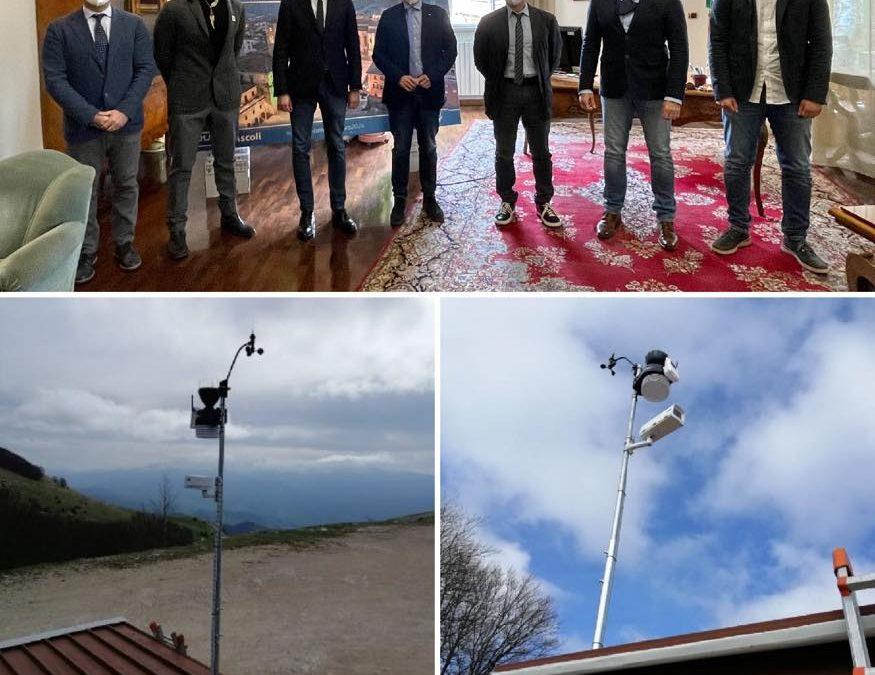 Installata una stazione meteorologica a Monte Piselli!