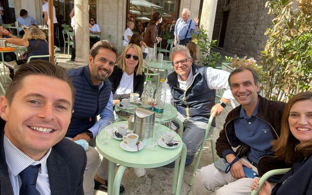 Incontro ad Ascoli con Alex Toselli, presidente dell'impresa sociale Albergo Etico