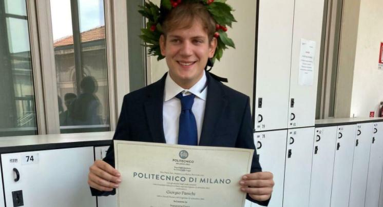 Le mie più vive e sincere congratulazioni a Giorgio Panichi!